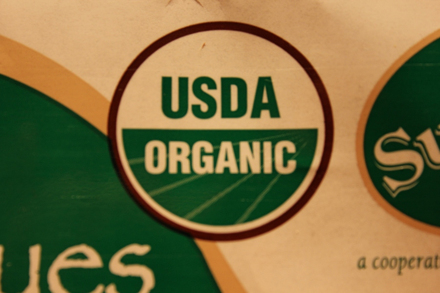 This mark on the label insures it's organic